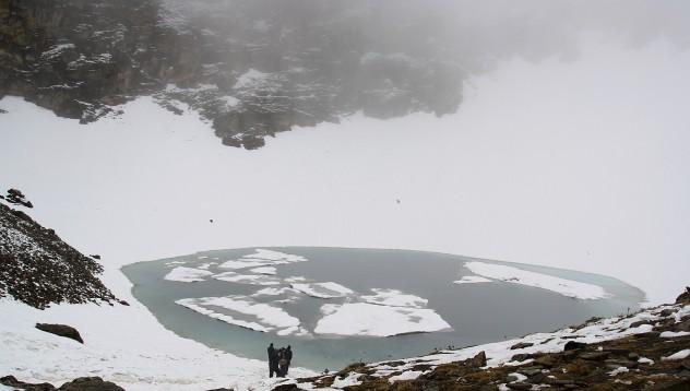 Прокълнатото езеро на Индия