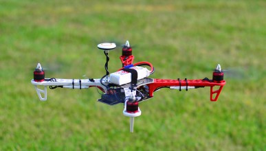 Овен нокаутира quadcopter