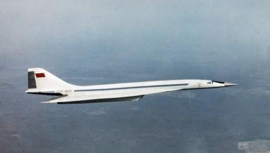 Първият свръхзвуков самолет