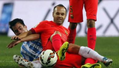 Барселона закъса срещу Малага
