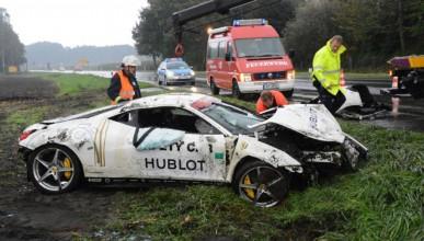 Германец потроши Ferrari