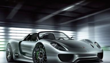 Porsche 918 Spyder се запали