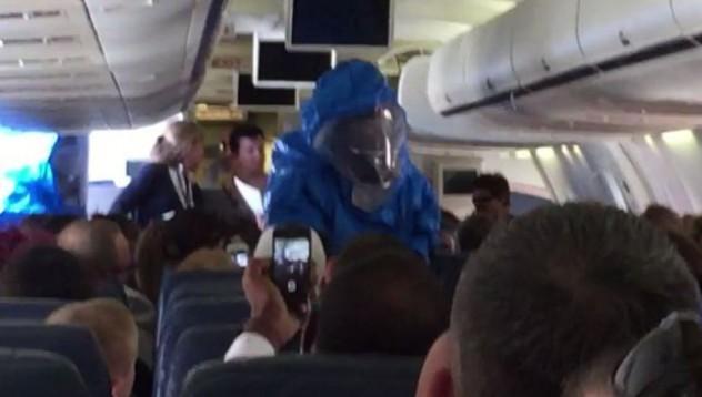 Шегите с ебола не са разрешени на самолета