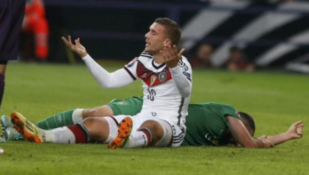 Германия не успя да се справи с Ейре