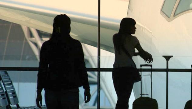 Секс на летището!?