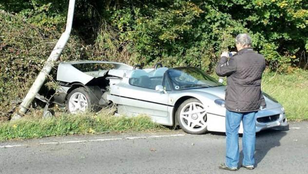 Една тъжна картина от автомобилния свят
