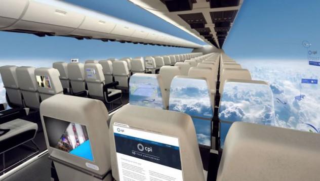 Самолети без прозорци