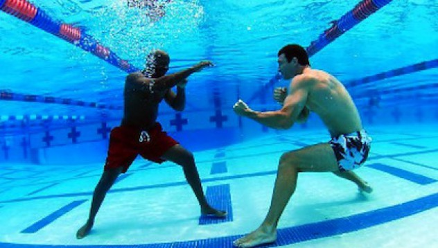 Кличко под водата