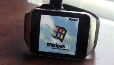 Умният часовник на Samsung с Windows 95