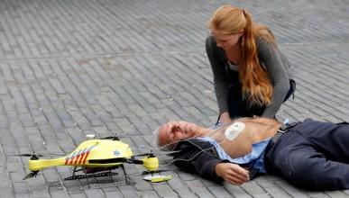 Холандия подготвя дрон с дефибрилатор