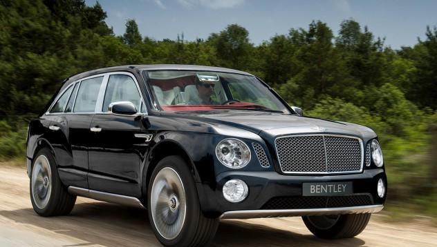 Bentley тийзват новия USV