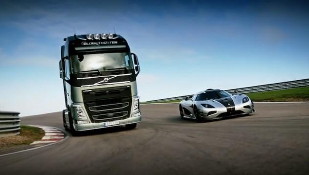 Volvo срещу Koenigsegg
