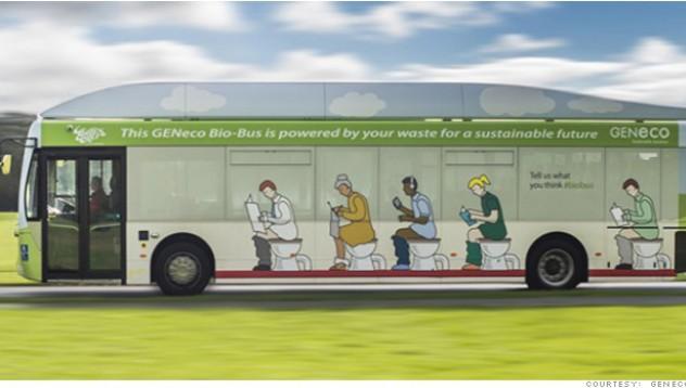 Автобус на биометан ще кара по 10 000 пътника на месец