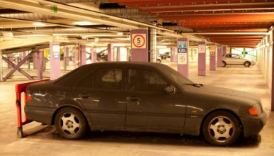 Mercedes-Benz с глоби за 14 000 паунда
