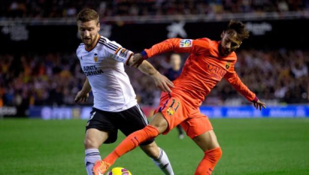 Барселона успя да пребори Валенсия