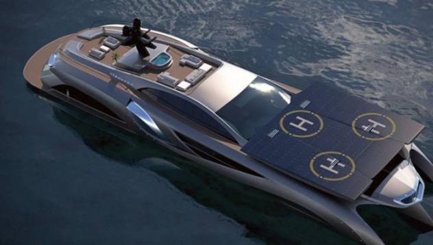 Как изглежда яхта за 16 милиона паунда?