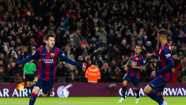 Барселона се пребори с градския противник
