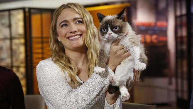 Grumpy Cat е по-богата от Ким Кардашиян