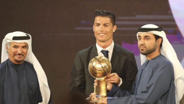 Роналдо с нов трофей