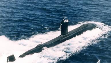 Капитан на подводница с палаво око
