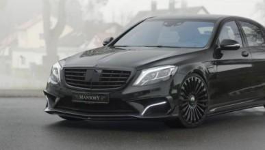 Mansory правят чудеса с Benz