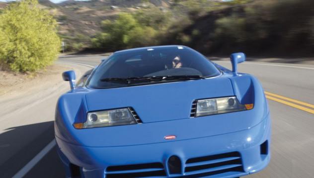 Рядък модел на Bugatti отива на търг