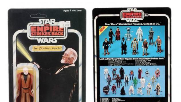 Колекция от Star Wars ще се продаде за 100 000 паунда
