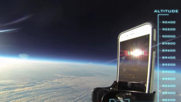 iPhone 6 в космоса