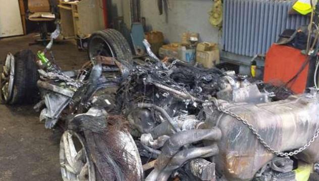 Унищоженият Huracan се продава
