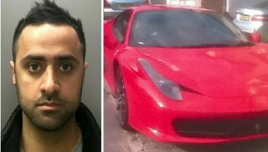 Полицай отиде на работа с Ferrari