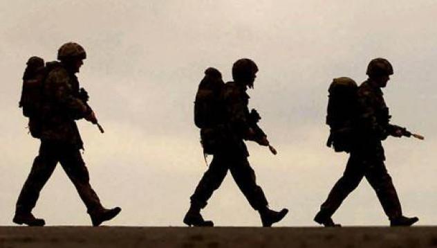 Жена обвини войници в изнасилване