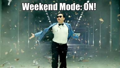 Това се случва през уикенда