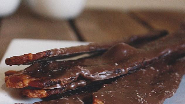 Бекон с шоколад