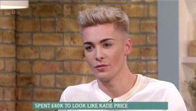 Той похарчи 40 000 паунда, за да прилича на своя идол
