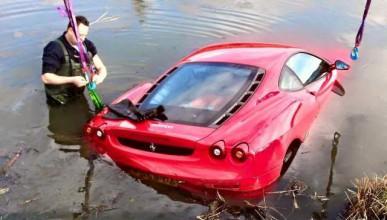Ferrari F430 не може да плува