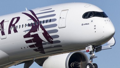 Airbus и Qatar Airways представиха A350 XWB