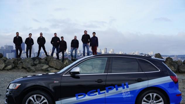 Кола на Delphi измина 3400 мили без човешка намеса