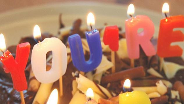 Свещи за рождения ден