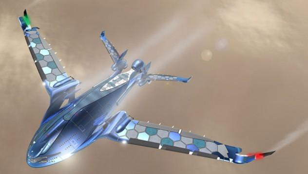 Запознайте се със самолета на бъдещето