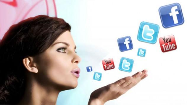 Петте пролетни настроения на жената в социалната мрежа