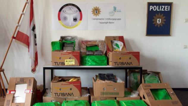 Изпратиха 386 килограма кокаин в хранителен магазин