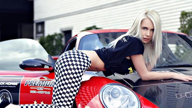 Porsche GT2 RS на Black Edition Party