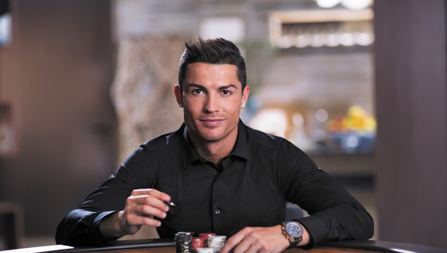 Кристиано Роналдо е новото лице на PokerStars