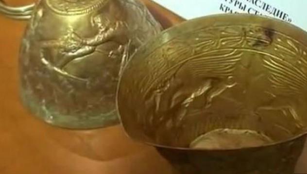 Руски работници откриха златни бонгове на 2400 години