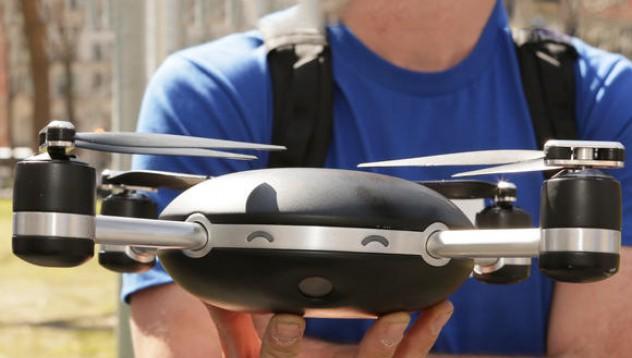 Автоматичен дрон ще ви следва навсякъде