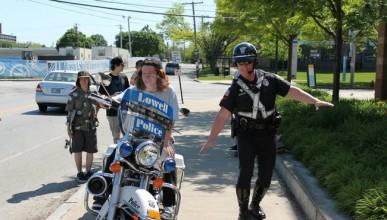 Полицаите, които обичат да се забавляват