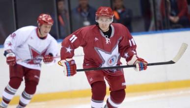 Путин е машина на хокей