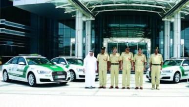Дубайската полиция се сдоби с Audi A6