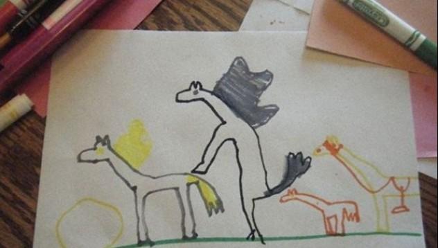 Невинни детски рисунки