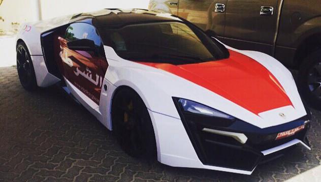 Дубайската полиция с още едно бижу